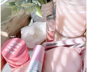 pink, glossier, and drunk elephant image