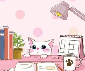 chibi, kawaii, and kitten image