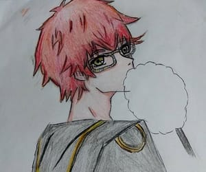 seven, dibujos. draw, and mystic messenger. 707 image