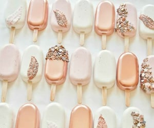 cakes, sweet, and rosegold image