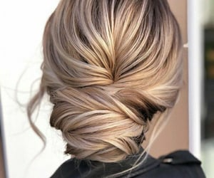 beauty, blonde, and braids image