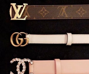 gucci, chanel, and belt image