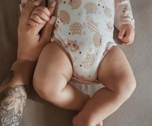 babies, love, and baby girl image