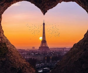 heart, love, and paris image