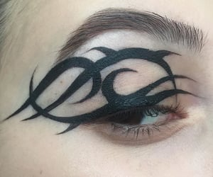 bizarre, cat eyeliner, and cyber ghetto image