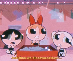 boy, powerpuff girls, and cartoon image