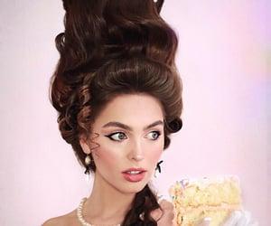 cake, fashion, and hair image