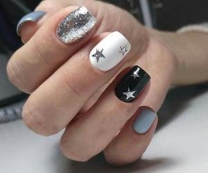manicure, nails, and nailart image