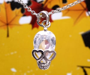 hkzoemall zoemall jewelry, silver fashion necklace, and women mom bride image