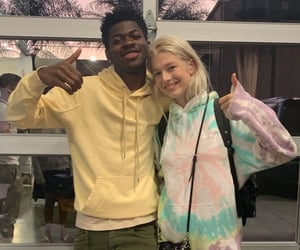 lil nas x and hunter schafer image