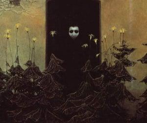 art, dark, and death image