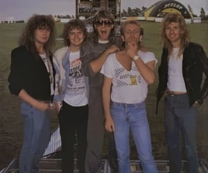 band, glam, and rick allen image