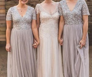 wedding party dresses, wedding party dress, and cheap bridesmaid dress image