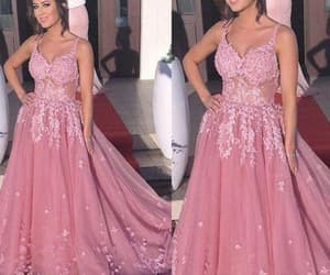 formal dress, evening gowns, and prom gown image