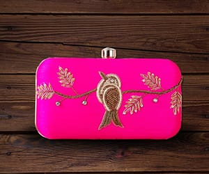 bags, clutches, and embroidered clutch bag image