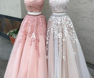 evening gowns, robe de soirée, and beaded prom dress image