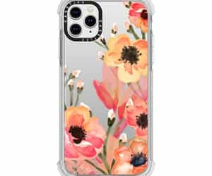 accessories, case, and flowers image