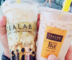bubble tea, refreshing, and tasty image