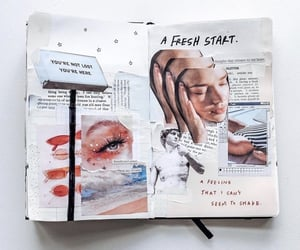 aesthetic, fresh, and journals image