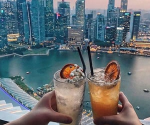 cheers, city, and singapore image