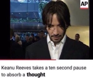 meme, keanu reeves, and youtube image