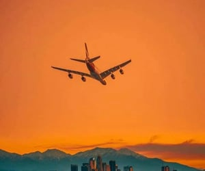 aesthetic, airplane, and theme image