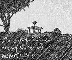 black&white, nostalgic, and positivity image