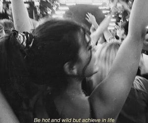 black and white, quotes, and girl image