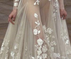 dress, lace, and fashion image