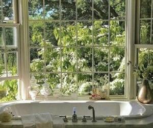 aesthetic, window, and bath image