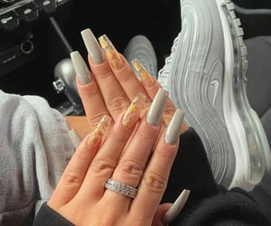 nails, inspiration, and shoes image