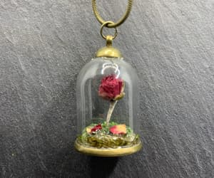 etsy, flower necklace, and terrarium necklace image