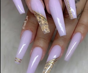 long nails, nails, and pretty nails image