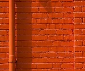 aesthetics, brick, and orange image