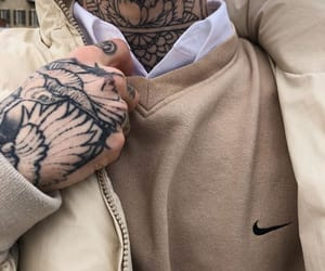 ink, art, and beige image