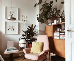 aesthetic, chair, and books image