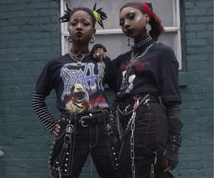 aesthetic, edgy, and woc image