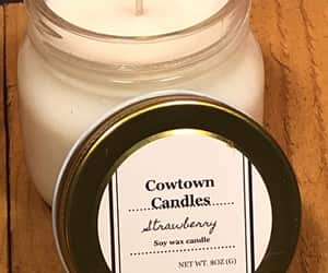 etsy, hand poured candle, and soywaxcandle image
