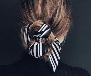 elegante, moda, and cabello image