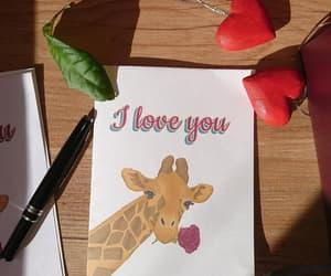 digital drawing, handmade, and love card image