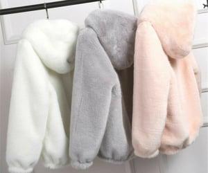 coats, comfy, and fashion image
