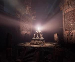 beacon, dark, and light image