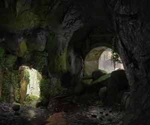 abandoned, muddy, and stone image