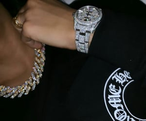 rich, jewelry, and luxury image