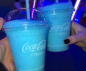 blue, cola, and drinks image
