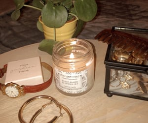 accessories, earrings, and candle image