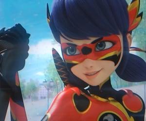 ladybug, miraculous, and dragonbug image