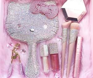 glitter, shine, and makeup image