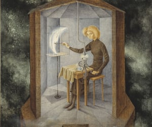dark fantasy, moon, and painting image