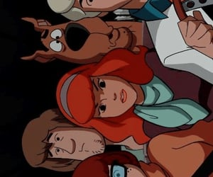 background, scooby doo, and wallpaper image